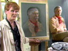 Follow popular art teacher, Anita Wolff, as she creates a pastel portrait of A Man from El Dorado.